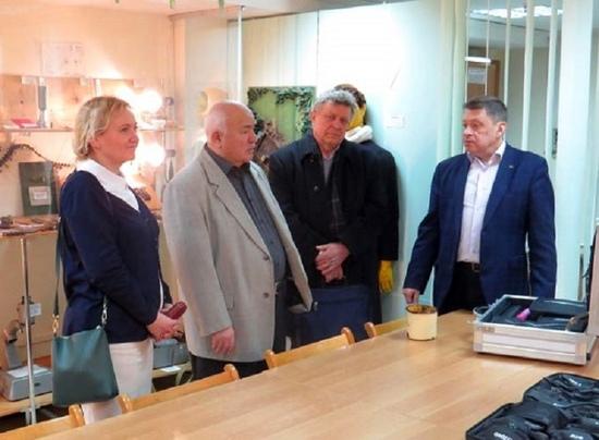 Cостоялась встреча студентов БГУ с Николаем Чергинцом